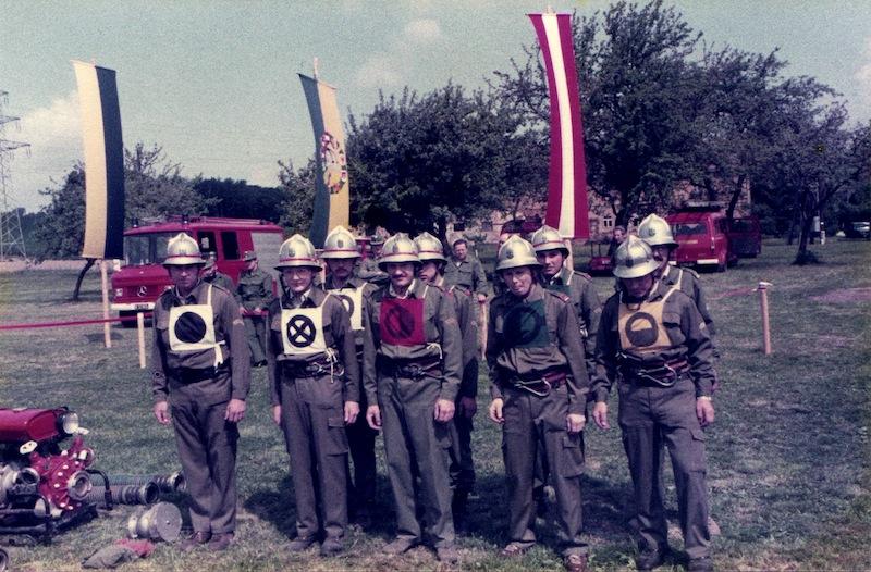 Bewerbsgruppe Mannersdorf 1984