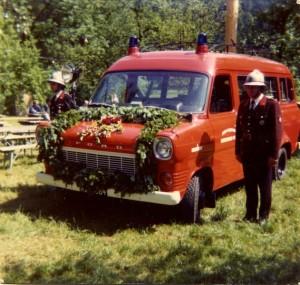 Ford Transit der FF Mannersdorf