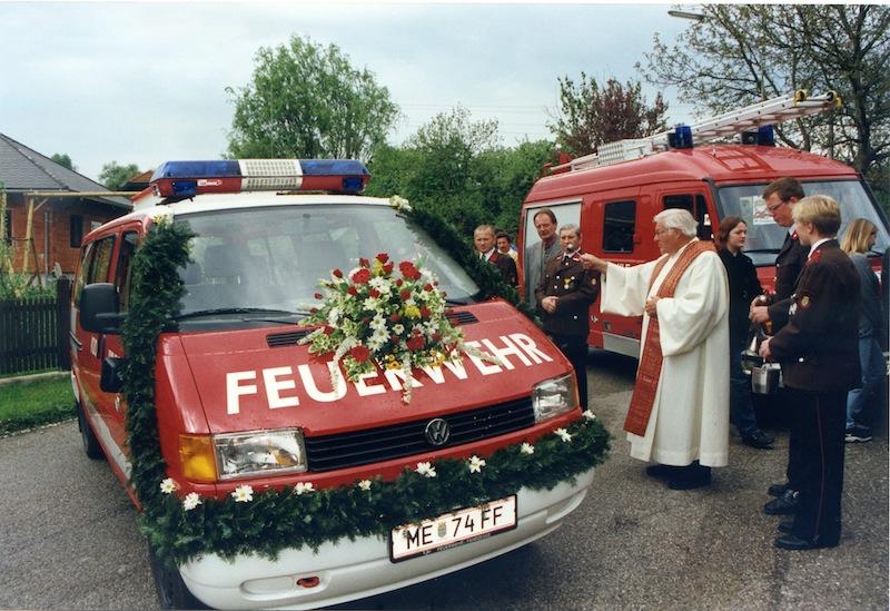Kommandofahrzeug der FF Mannersdorf