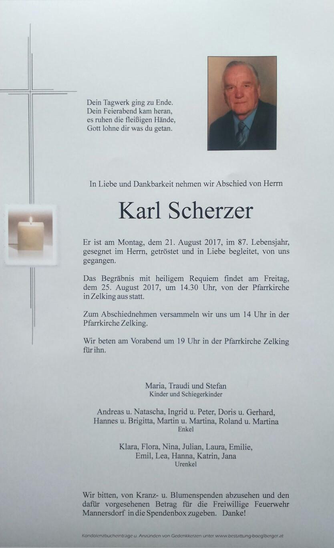Pate Scherzer Karl