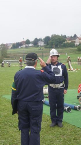 Harry beim Bezirksbewerb in Bischofstetten 2012