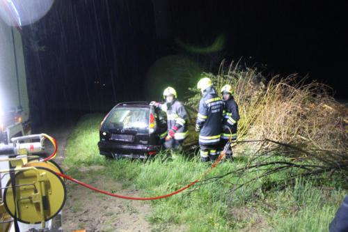 Arbeiten mit dem hydraulischen Rettungssatz
