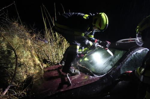 """Einsatzübung """"Verkehrsunfall mit einer eingeklemmten Person"""""""