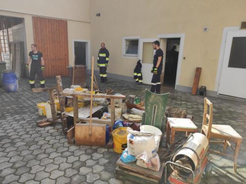 Betroffenes Objekt in Altenhofen/Lehenleiten