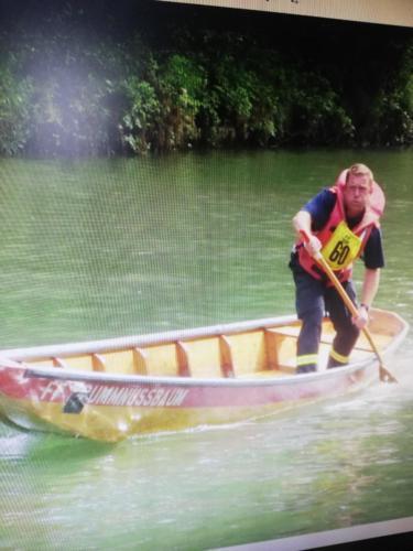 Harry beim Wasserdienst-Bewerb in Mannersdorf 2014
