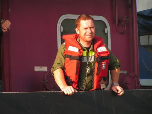 Harry bei einer KHD Übung im September 2006