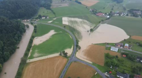 Luftaufnahme Mannersdorf